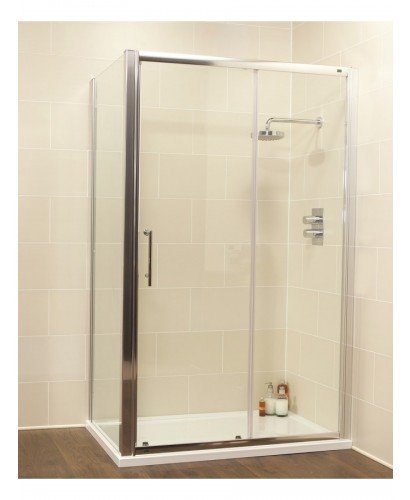 Kyra range 1400 x 700 sliding shower door for 1400 shower door