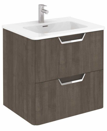 Metz Ash 60 cm Wall Hung Vanity Unit and Basin