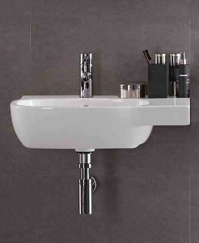Twyford Moda Basin 65cm with Shelf RH