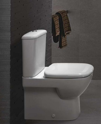 Twyford Flushwise® Moda Fully Shrouded Toilet & Soft Close Seat