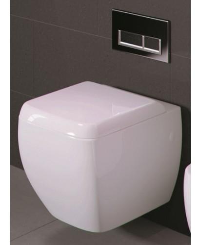RAK Metropolitan Wall Hung Toilet and Soft Close Seat - PRICE INCLUDES PAN AND SEAT