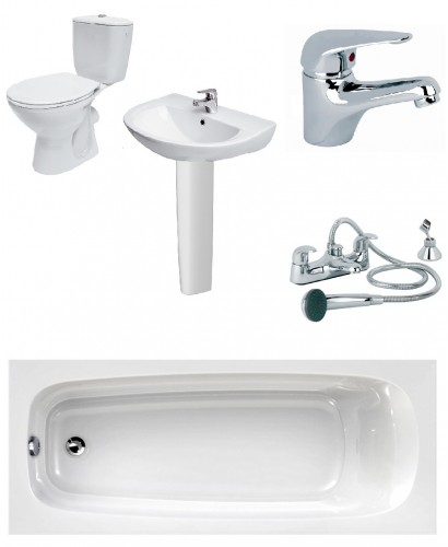 Modena Complete Bathroom Bundle