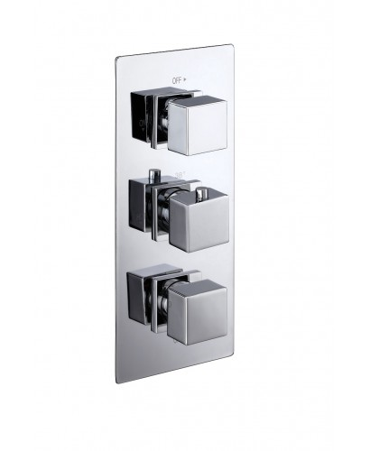 VICTORY Triple Control Concealed Thermostatic Shower Valve