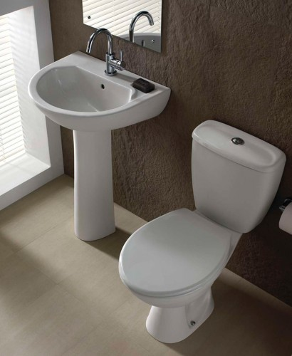 Twyford Option Toilet and Wash Basin Set