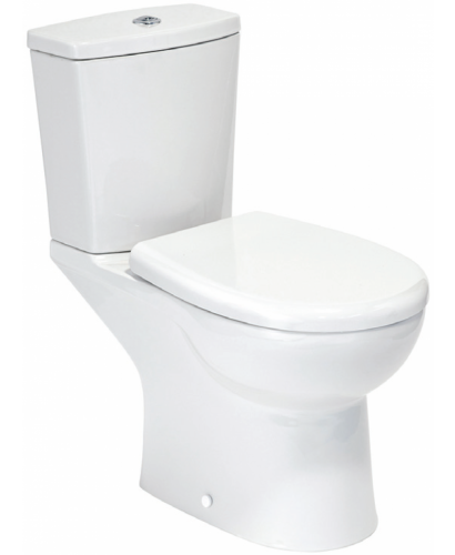 Ocean Close Coupled Toilet and Soft Close Seat