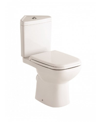 Horizon Corner Toilet and Soft Close Seat