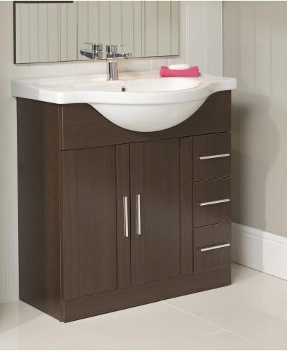 Cordoba Wenge 75cm Vanity Unit & Basin