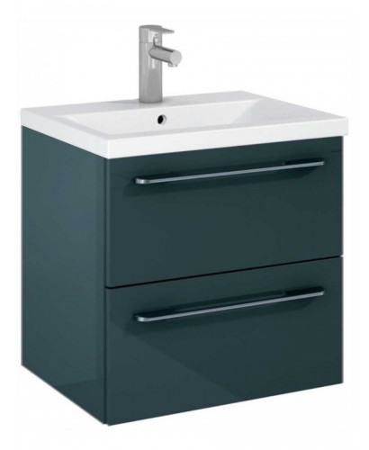 Soho Plus 50cm Gloss Grey Vanity Unit with Basin