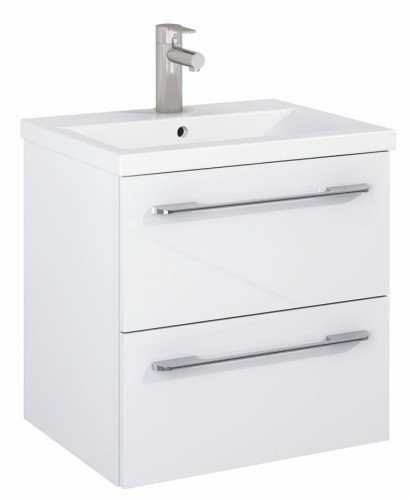 Soho Plus 50cm Gloss White Vanity Unit with Basin