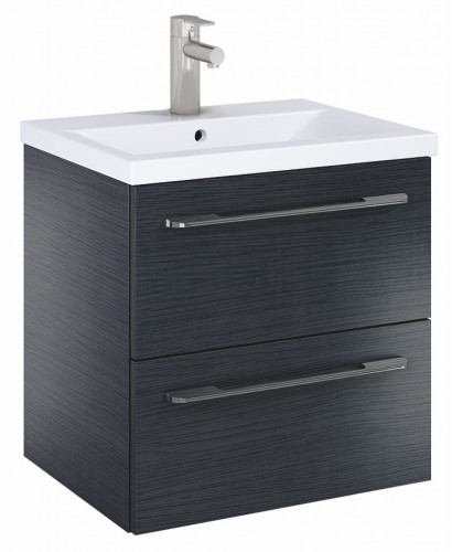 Soho Plus 50cm Grey Vanity Unit with Basin