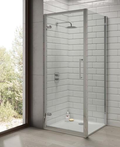 Rival 8 mm 760 Shower Side Panel - Adjustment 720 - 750 mm