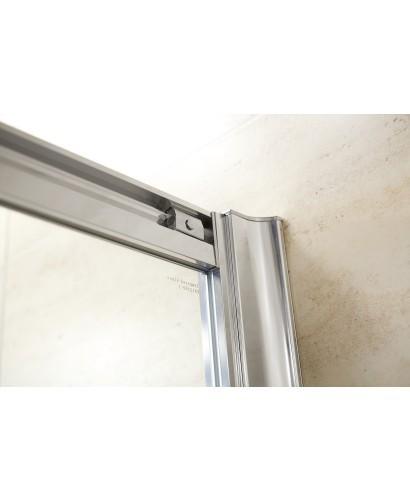 Rival 8mm 1500 x 700 sliding shower door for 1500 sliding shower door