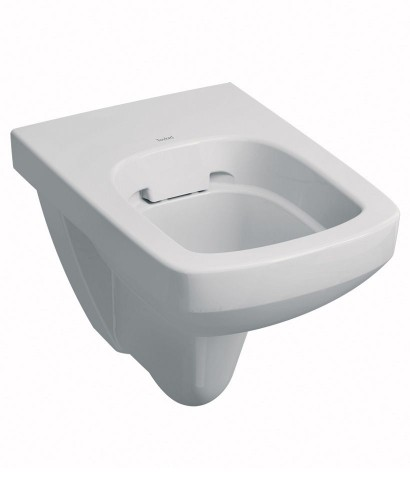 Twyford E100 Square Wall Hung Rimfree® Toilet with Seat - **FURTHER REDUCTIONS