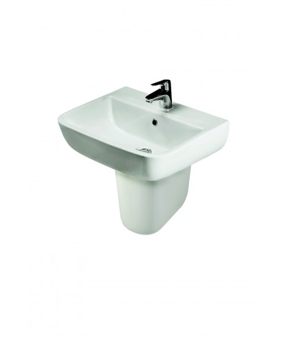 RAK Series 600 Basin 52cm and Semi Pedestal
