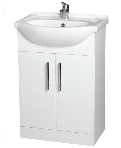Blanco 55cm Vanity Unit, Basin & Tap