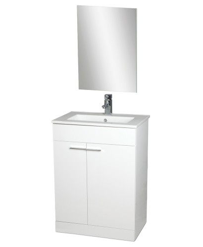 Spain 60cm Vanity Unit , Basin , Mirror AND Tap** an extra 10% off with code EASTER10