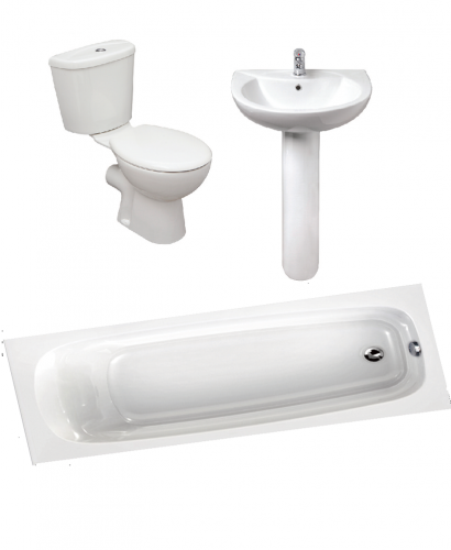 Modena 1600 Complete Bathroom Bundle