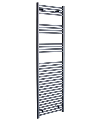 Straight 1800x600 Heated Towel Rail Anthracite