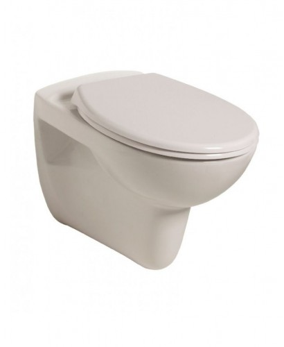 Lucia Wall Hung Toilet with Standard Seat