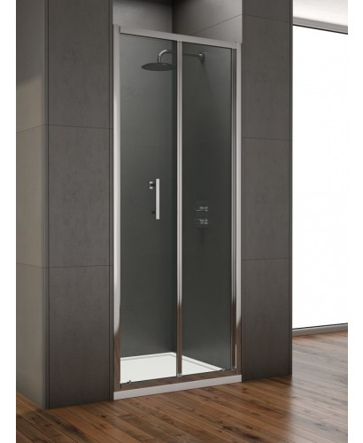 Style 850mm Bi-fold Shower Door -  Adjustment 800 - 840mm
