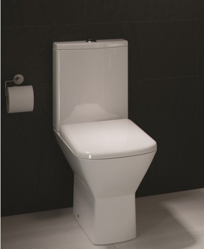 RAK Summit Close Coupled Toilet and Soft Close Seat