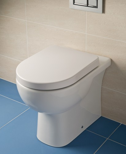 RAK Tonique Back to Wall Toilet & Soft Close Seat - **FURTHER REDUCTIONS 60% off