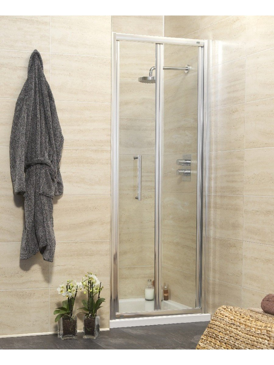 Rival Range 1000 Bifold Shower Door - Adjustment 940-1000mm