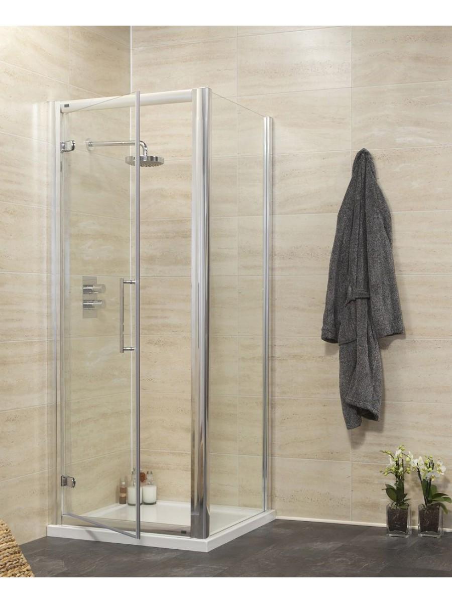 Rival 8mm 760 x 1000 Hinge Shower Door