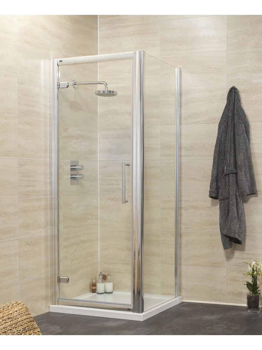 Rival 8mm 760 x 800 Hinge Shower Door