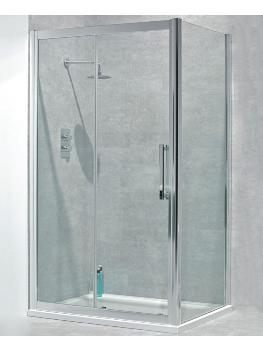 Avante  8mm 1200 x 760 Sliding Shower door