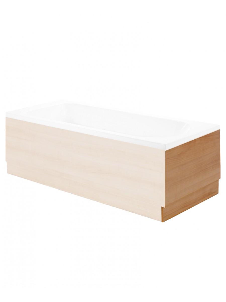 Attica Oak 700 Bath End Panel