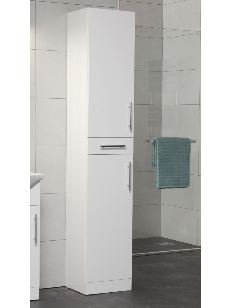 Blanco 350mm Tall Storage Unit -