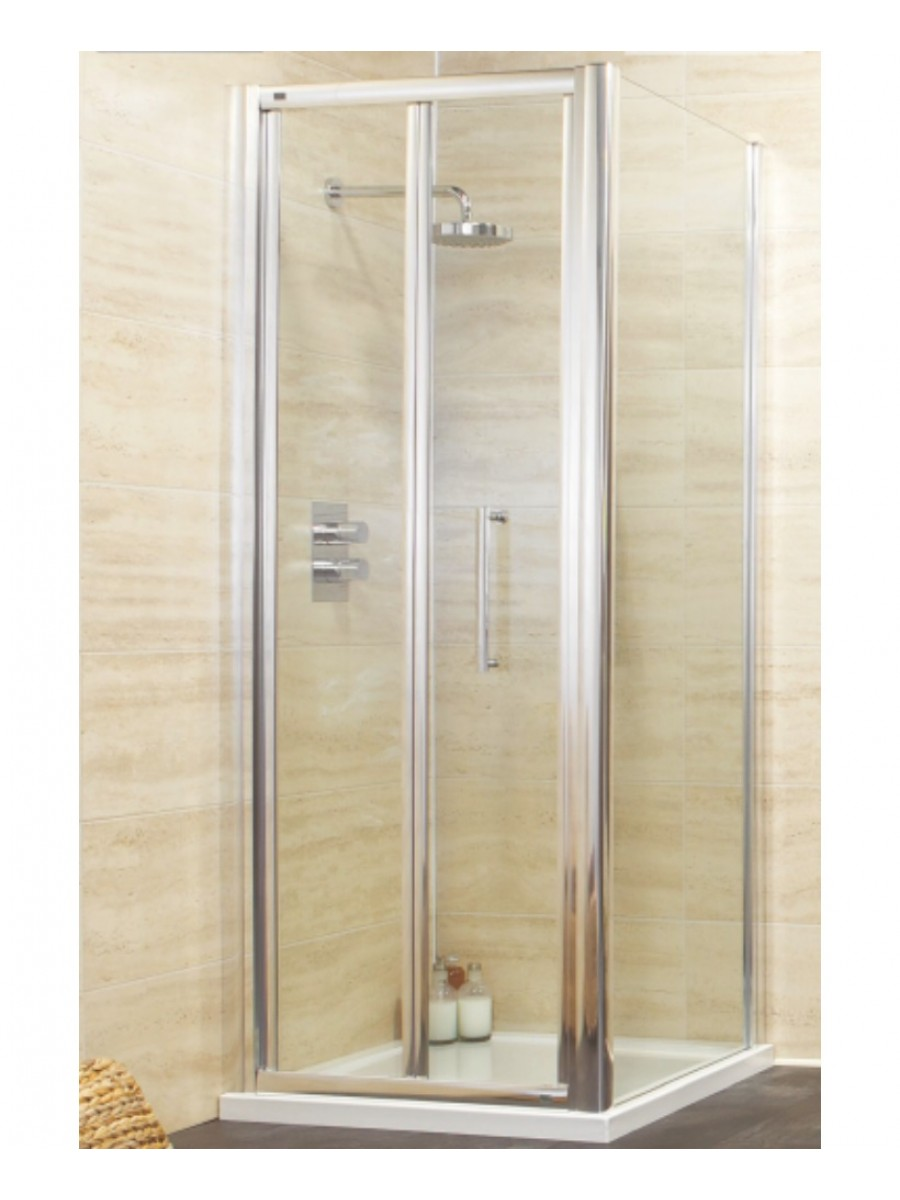 Rival 900 x 800 Bifold Shower Door