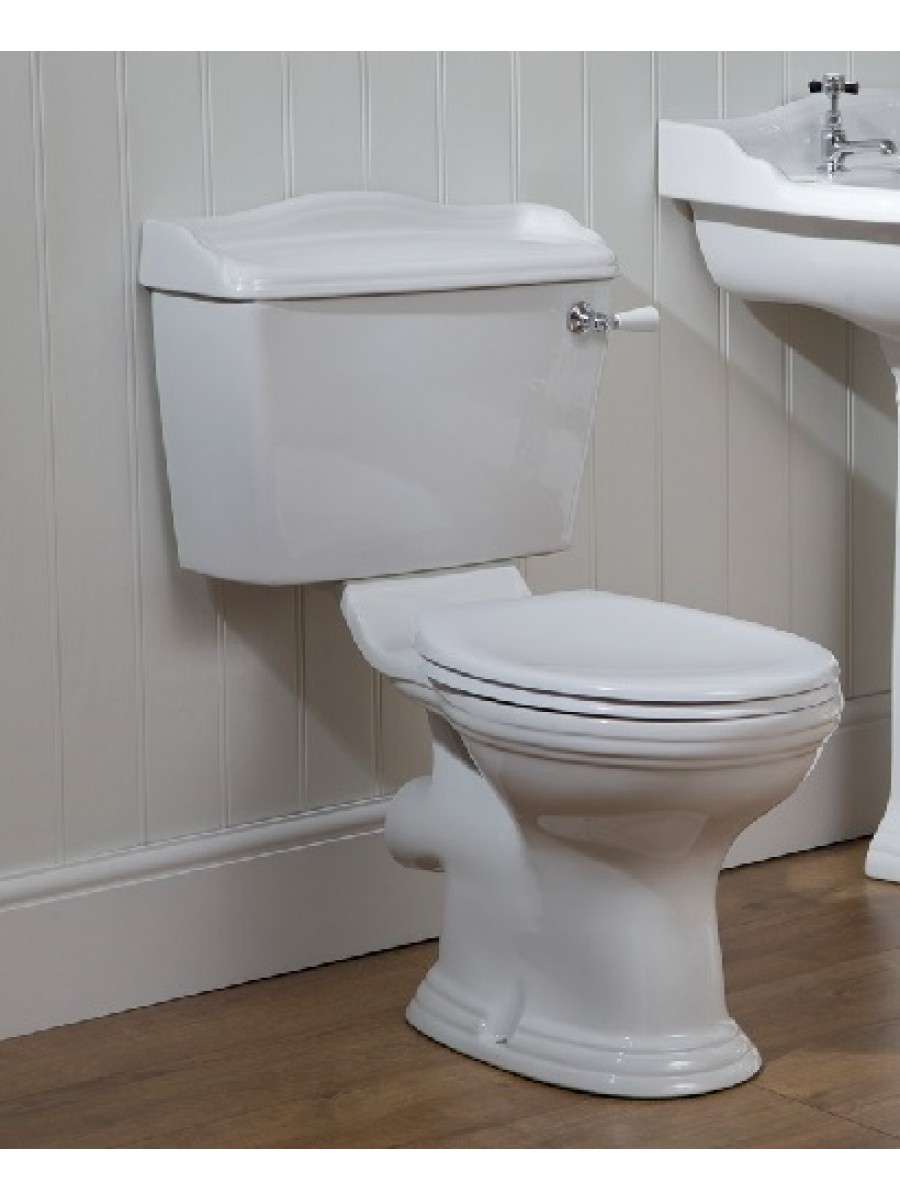 Oxford Close Coupled Toilet & Soft Close Seat and Lever Flush ** FURTHER REDUCTIONS