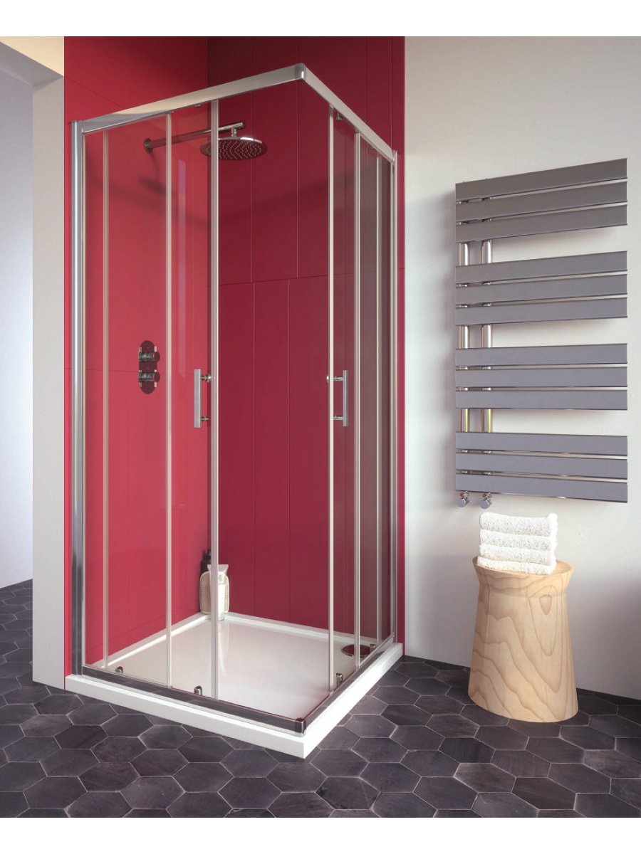 Cello Plus 800 Corner Entry Shower Door , Adjustment 765 - 790mm