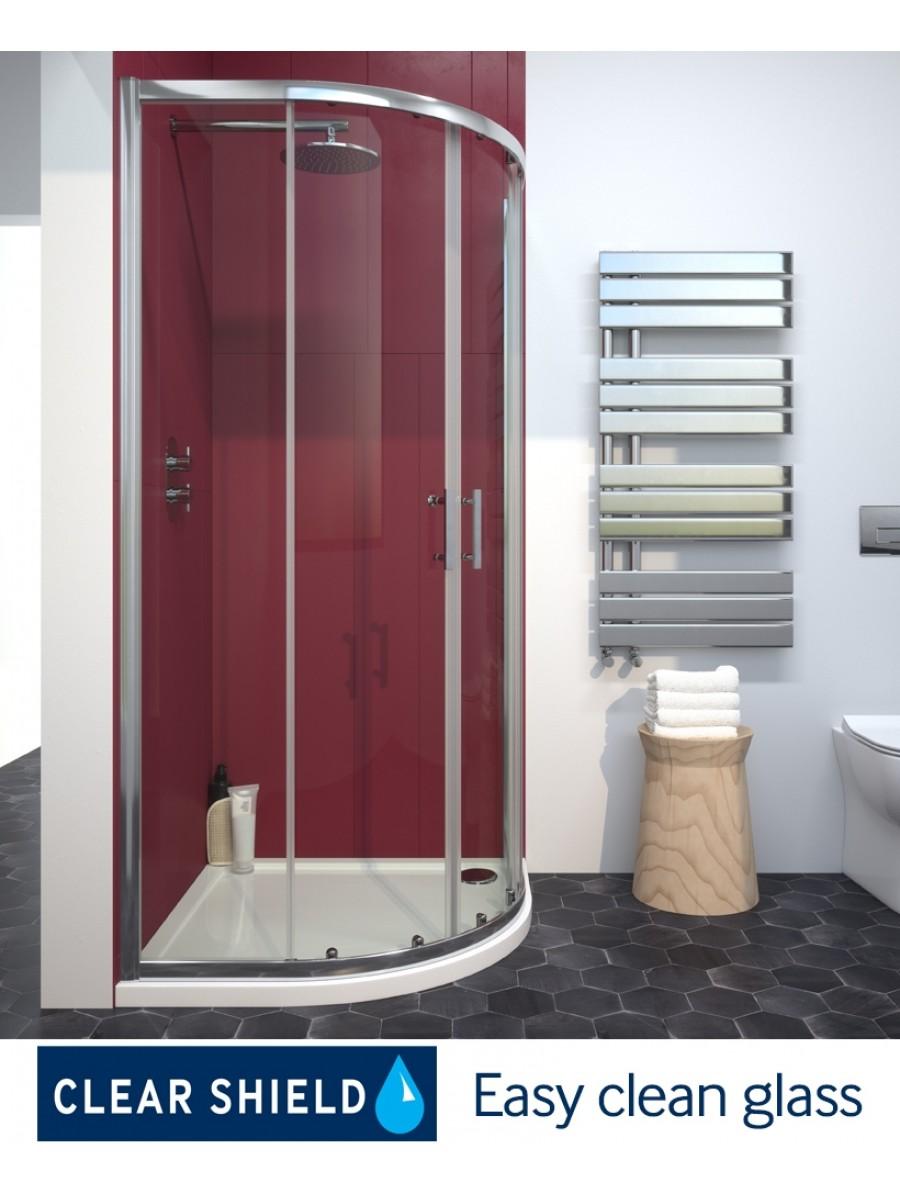 Cello Plus 2 Door 800 Quadrant Door, Adjustment 765 - 790mm