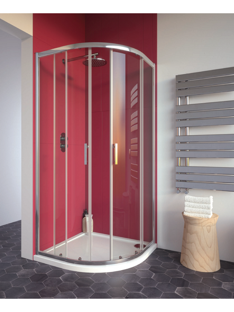 Cello Plus 2 Door 1000 Quadrant Door, Adjustment 965 - 990mm