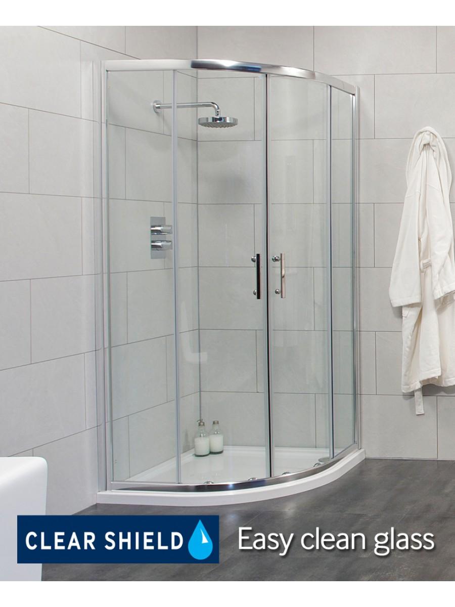 Cello 900 Quadrant and  JT Ultracast Shower Tray