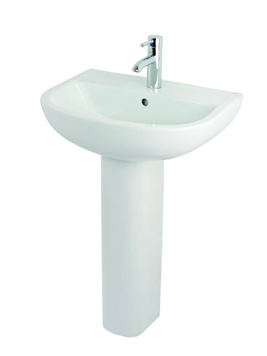 Rak Compact Basin 55cm And Pedestal