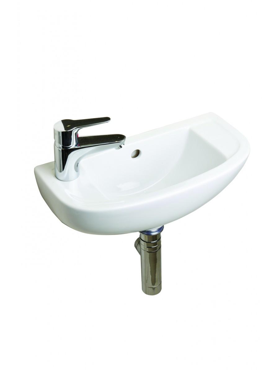 RAK Compact Slimline Basin 45cm Left Hand