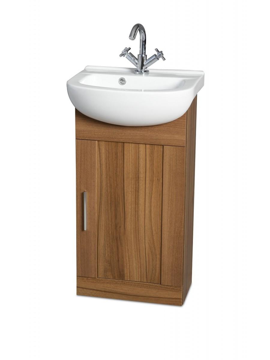 Cordoba Walnut 45cm Vanity Unit & Basin