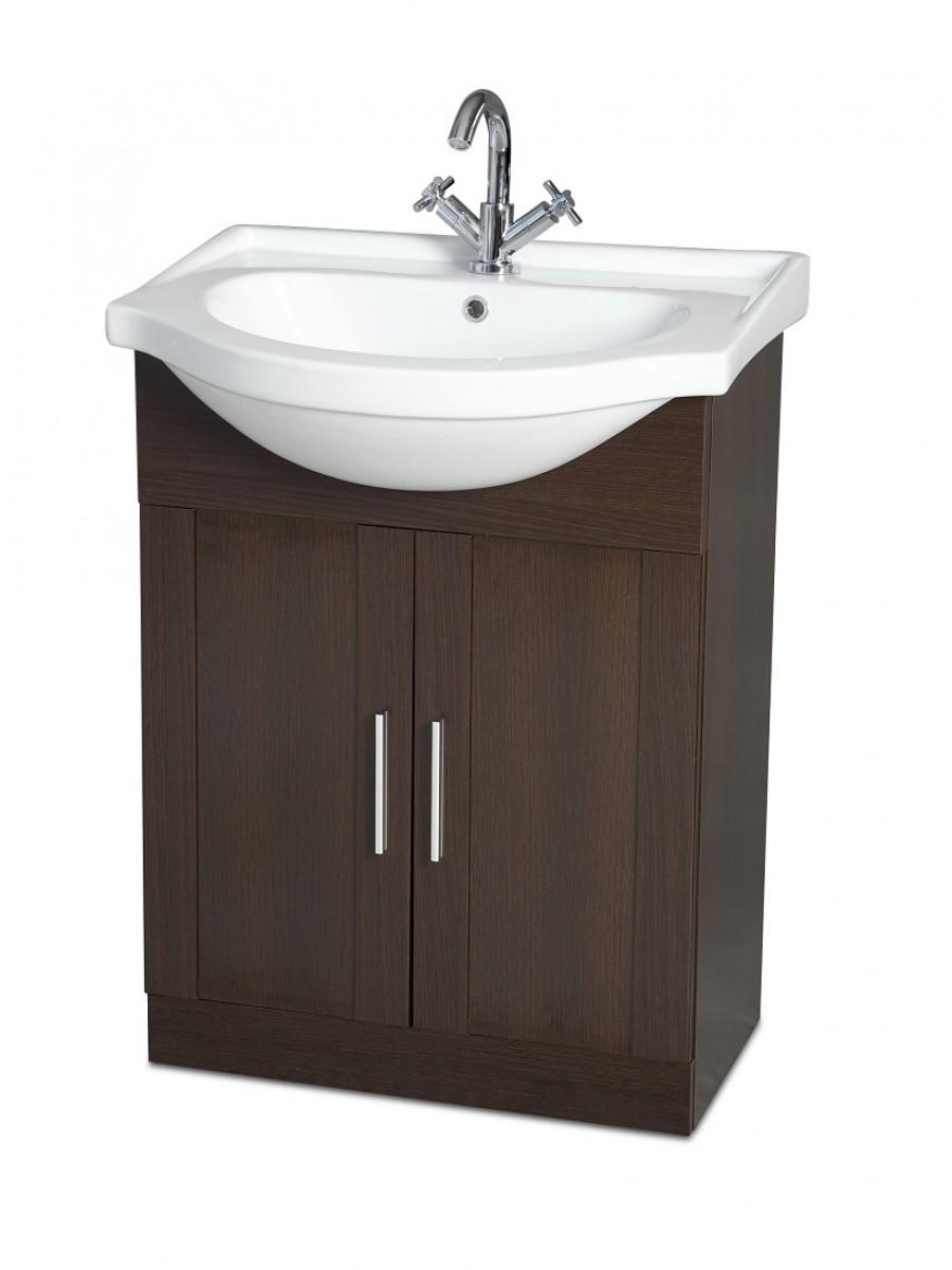 Cordoba Wenge 65cm Vanity Unit & Basin
