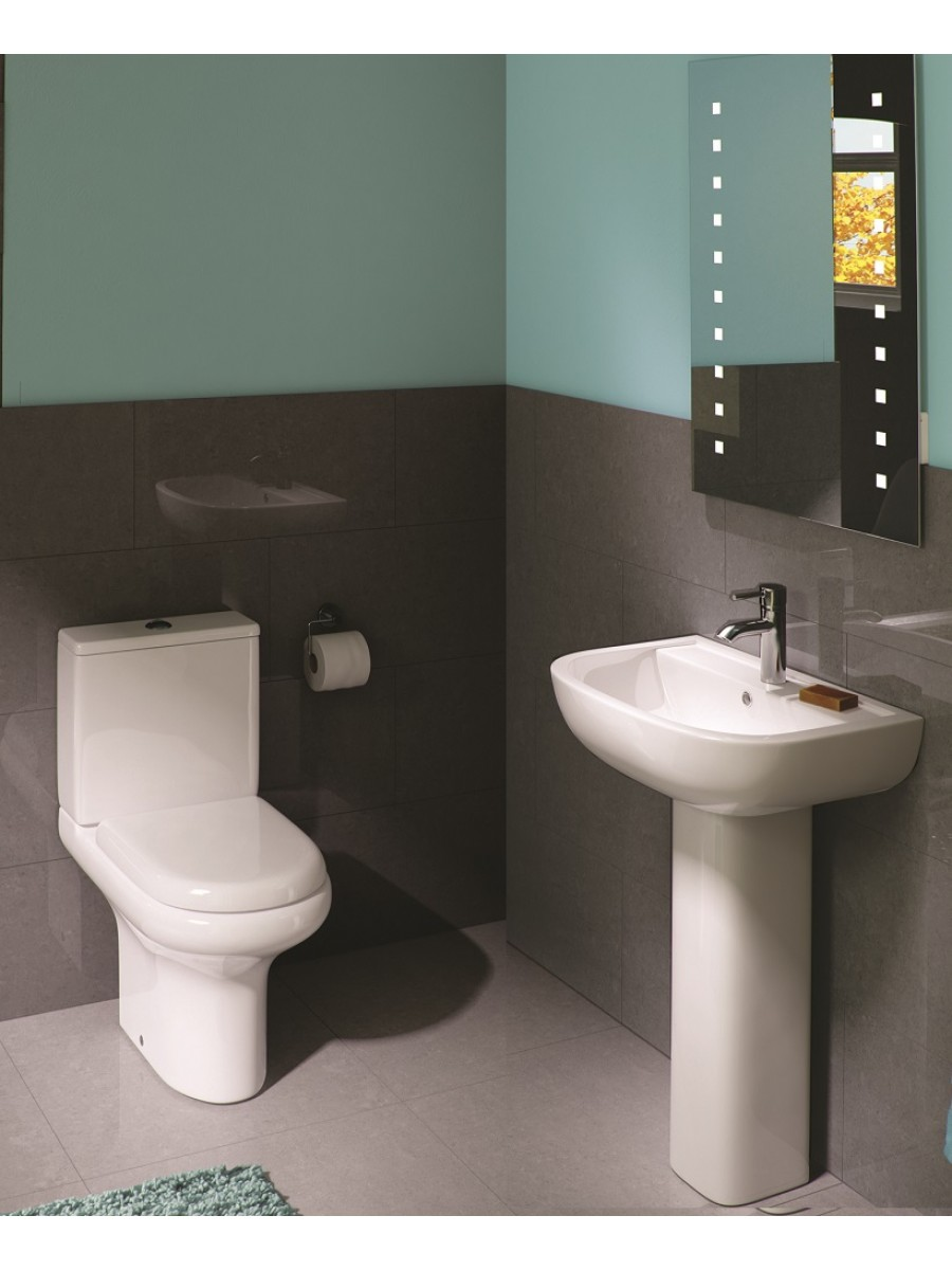 RAK Compact Toilet and Basin Set