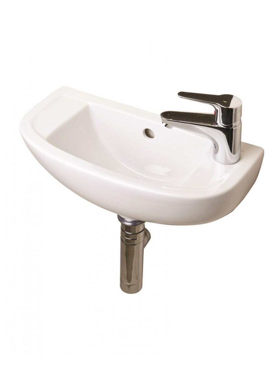 RAK Compact Slimline Basin 45cm Right Hand