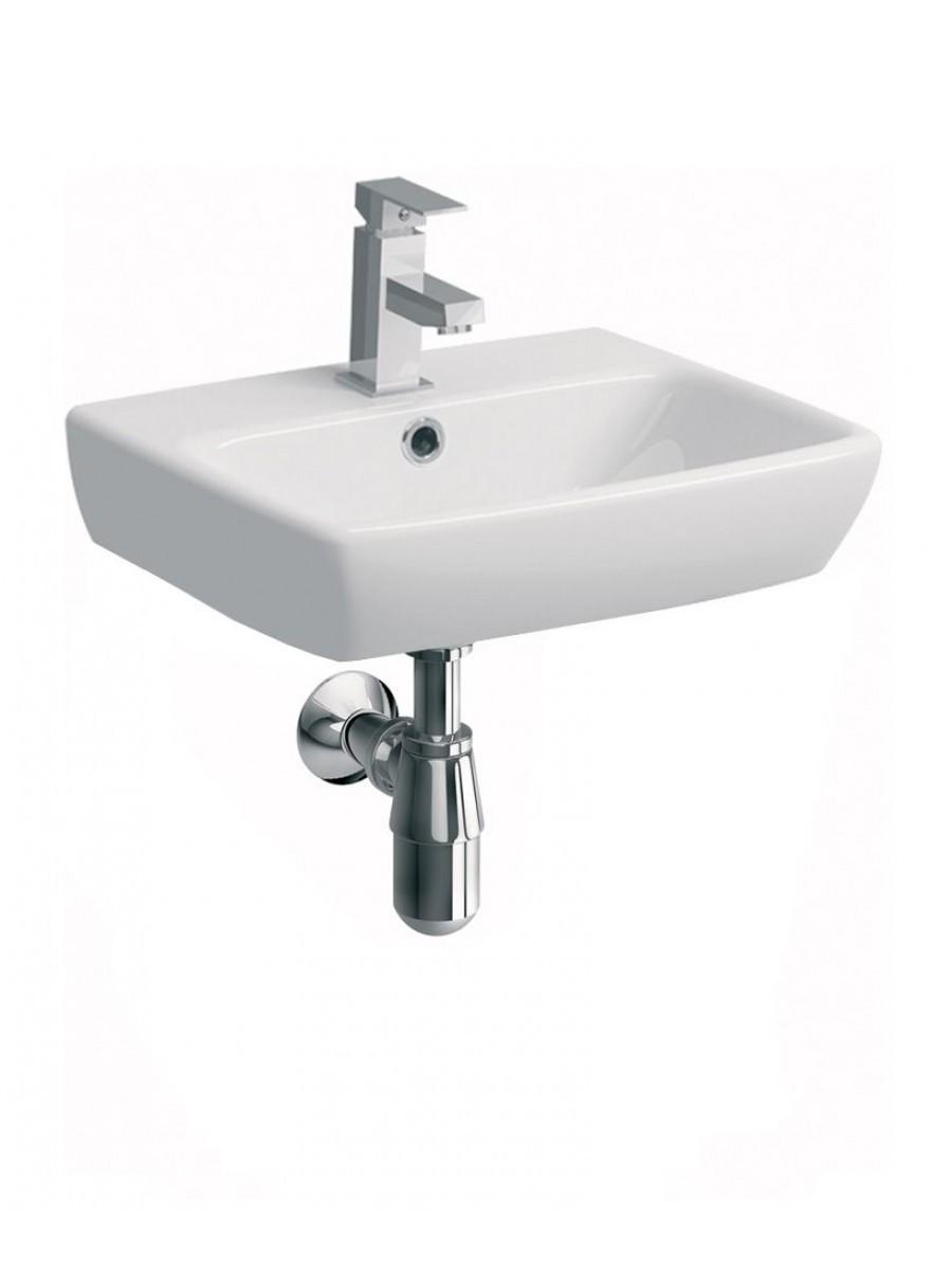 Twyford E100 Square 45 Cloakroom basin