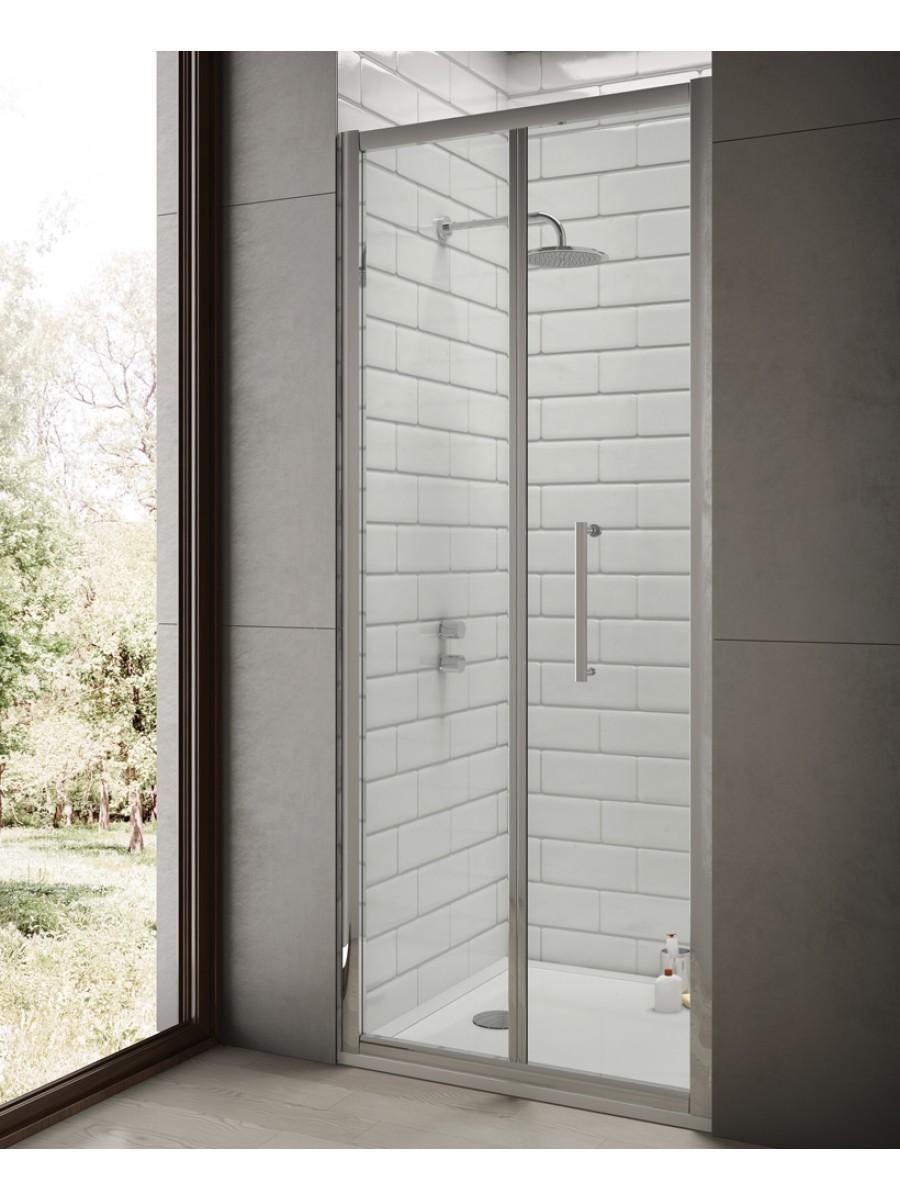 Rival 1000 x 700 Bifold Shower Door