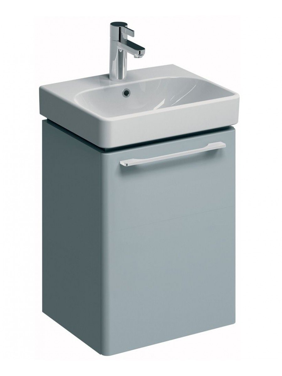 Twyford E500 450 Grey Vanity Unit Wall Hung