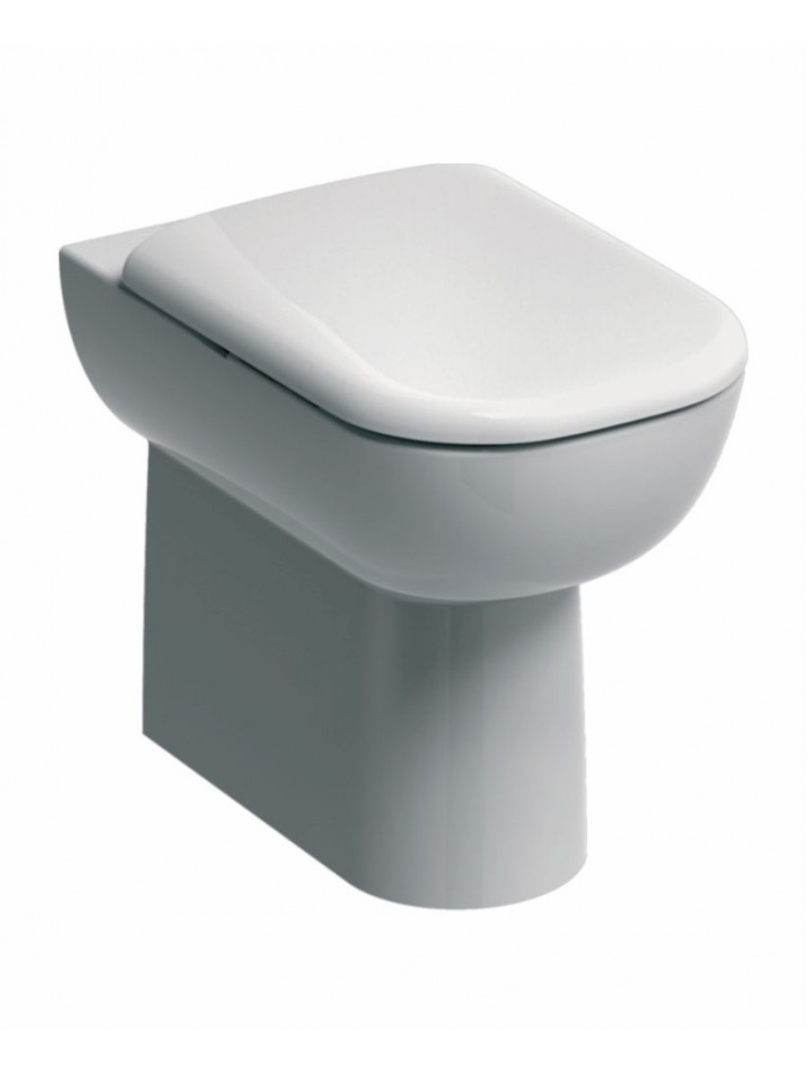 Twyford E500 Back To Wall Toilet & Standard Seat