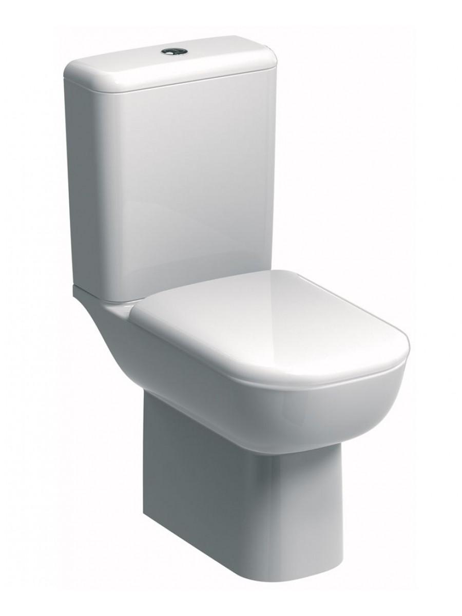 Twyford Twyford E500 Round Rimfree® Close Coupled Toilet & Standard Seat