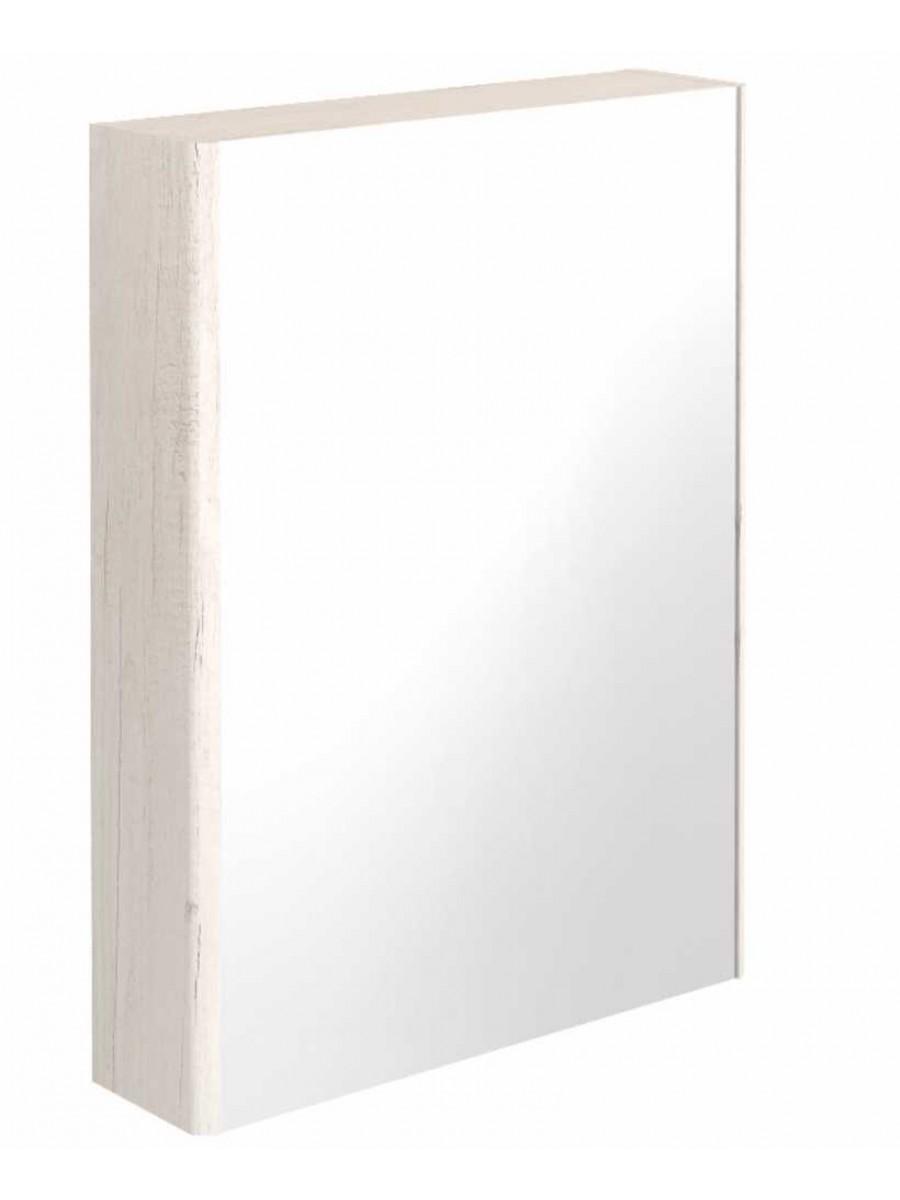 Elora 60 Mirror Cabinet Light Wood - **70% Off
